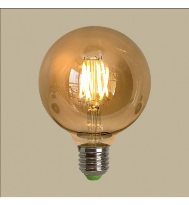 Lâmpada G125 filamento LED 4W 2200K Dimerizável - GMH