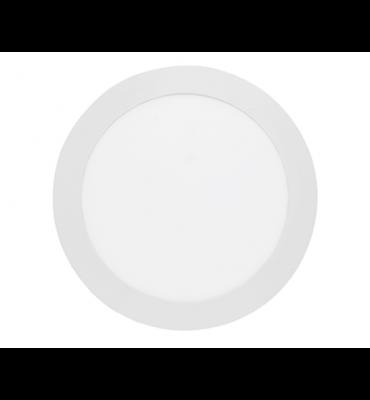 Painel LED embutir redondo slim 18W 4000K - Stella