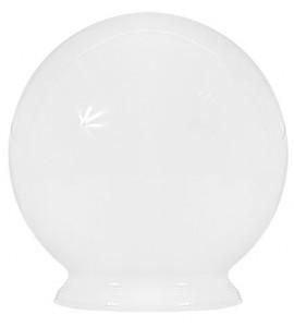 Esfera lisa leitosa c/colar 10x15