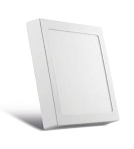 Painel LED sobrepor quadrado 12W 3000K 17x17cm Save Energy