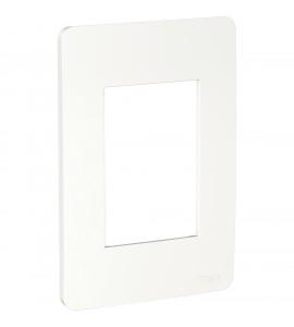 Placa 4x2 3 postos branca Orion