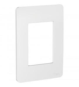 Placa 4x2 3 postos Gamma Silver Orion