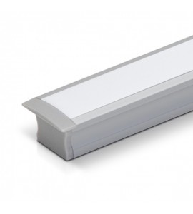 Perfil LED de embutir para gesso SLED9002