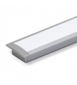 Perfil LED de embutir para madeira SLED9001