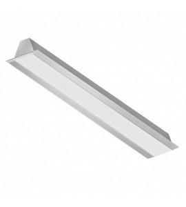 Perfil LED de embutir para gesso SLED9004N