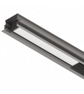 Perfil LED de embutir K50 SLED9021