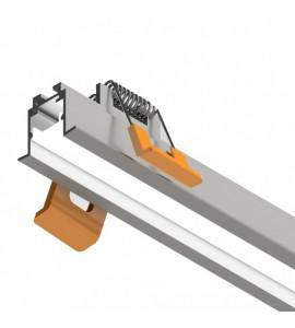 Perfil LED de embutir para gesso SLED9002N