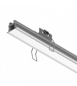 Perfil LED de embutir para gesso SLED9002C
