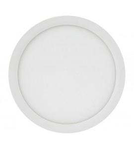 Painel LED embutir redondo 18W 4000K 22cm - Brilia