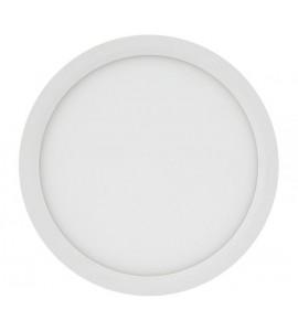 Painel LED embutir redondo 22,5cm 18W 3000K - Brilia