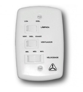 Chave de ventilador c/ capacitor 1,5+2,5uF Venti-delta