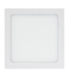 Painel LED embutir quadrado 18W 6500K 22cm Brilia