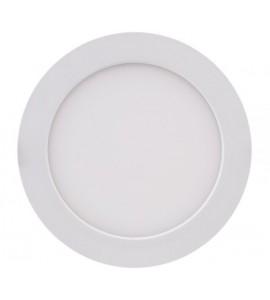 Painel LED embutir redondo 17cm 12W 3000K - Brilia