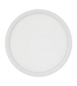 Painel LED sobrepor redondo 24W 3000K 29,5cm - Brilia