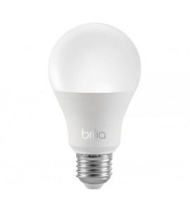 Lâmpada Bulbo LED 9W 3000K - Brilia