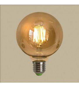 Lâmpada de filamento LED G95 Squirrel Cage 4W 2200K