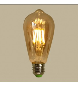 Lâmpada ST64 filamento LED 4W 2200K - GMH