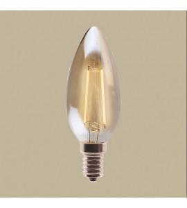 Lâmpada Vela filamento LED 2W 2200K E-14 - GMH