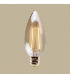 Lâmpada de filamento LED Vela 2W 2200K GMH