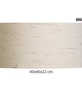 Cúpula Cilíndrica 40x40x22cm Linho