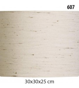 Cúpula Cilíndrica 30x30x25cm Linho
