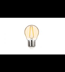 Lâmpada LED Mini Bulbo Vintage 2W E27 2400K - Stella