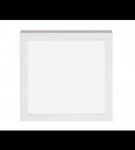 Painel LED sobrepor quadrado 18W 6500K - Stella