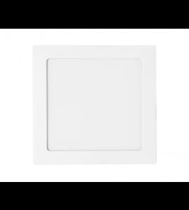 Painel LED embutir quadrado 12W 6500K - Stella