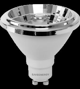 Lâmpada AR70 LED 7W 2700K Save Energy