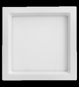 Painel LED embutir quadrado recuado 25W 3000K 30cm Save Energy