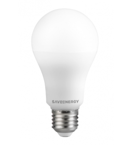 Lâmpada bulbo LED 12W 2700K - Save Energy