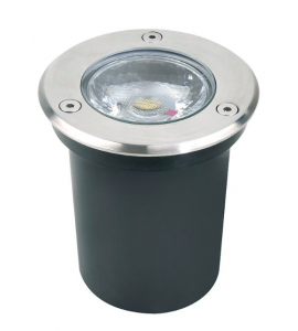 Embutido de solo Dresden LED 6W 3000K IP67 redondo aço inox