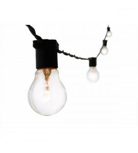 Varal de lâmpadas 10m 10xE27