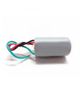 Capacitor 1+1,5uF 3 fios