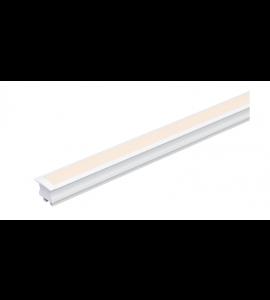 Perfil LED embutir Linie 24W 24V 2 metros - Stella
