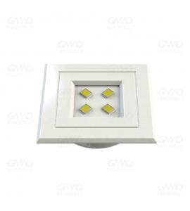 Luminária POP 0,9W 3000K quadrada BR