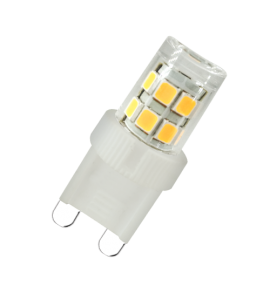Lâmpada G9 LED 2W 6500K