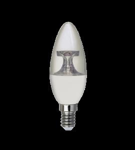Lâmpada Vela Lisa LED 3W 2700K