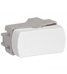 Módulo interruptor simples branco Miluz