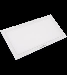 Painel LED embutir retangular 45W 6500K 31,2x125cm - Avant