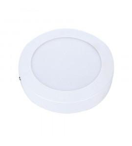 Painel LED sobrepor redondo branco 12W 3000K - Avant