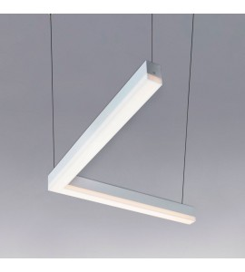 Pendente Linea L LED 20W 3000K PT