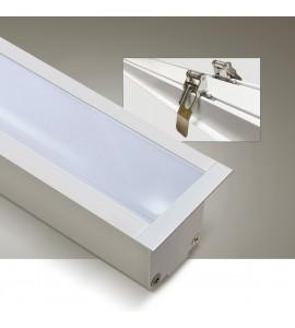Perfil LED embutir 3m BT