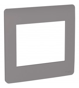 Placa 4x4 6 postos Axis Grey Orion