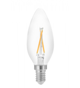 Lâmpada Vela Filamento LED 2W 2400K Save Energy