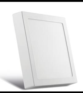 Painel LED sobrepor quadrado 36W 3000K 40cm Save Energy