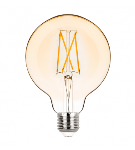Lâmpada Balloon G95 filamento vintage LED