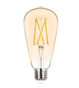 Lâmpada ST64 filamento vintage LED