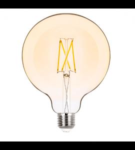 Lâmpada Balloon G125 filamento vintage LED