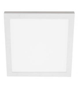 Painel LED sobrepor quadrado 30W 4000K 40cm Stella